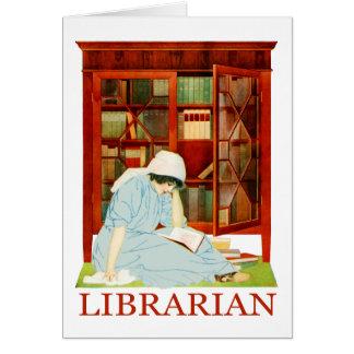 Cartão Bibliotecário de Coles Phillips