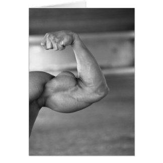 Cartão Bíceps Notecard #1