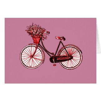 Cartão Bicicleta 2