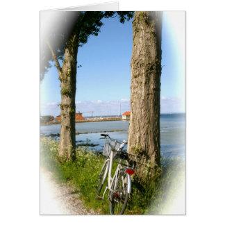 Cartão Bicicleta Aero