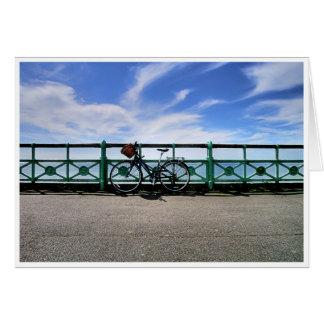 Cartão Bicicleta e cesta