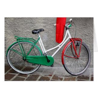 """Cartão Bicicleta """"ideal"""" italiana de Schwinn"""