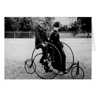 Cartão Bicicleta para dois