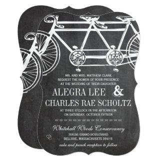 Cartão Bicicleta rústica do vintage do quadro da