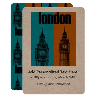 Cartão Big Ben em Londres, Ver. 2