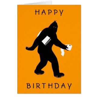 Cartão Bigfoot surpreendeu
