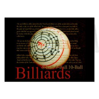 Cartão Billards