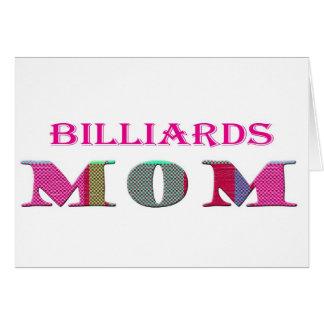 Cartão BilliardsMom