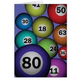 Cartão Bingo 80