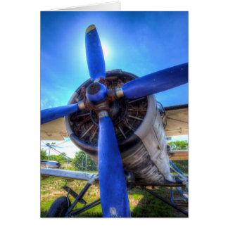 Cartão Biplano de Antonov AN-2