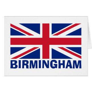 Cartão Birmingham no azul
