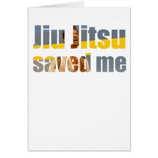 Cartão BJJ salvar me