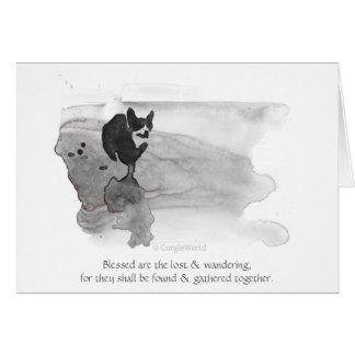 """Cartão Blessed é do"""" o Beatitude perdido & vagueando"""