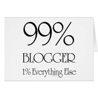 Cartão Blogger de 99%