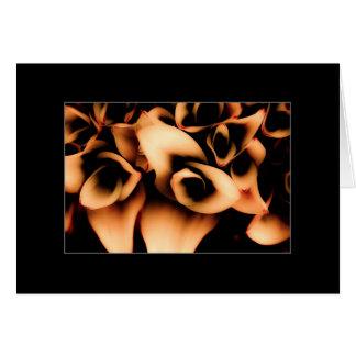 Cartão Bloomers do outono