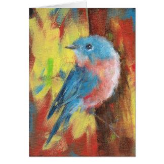 Cartão Bluebird - Notecard