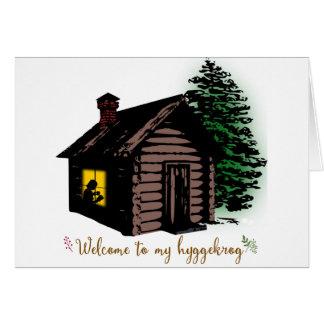 Cartão Boa vinda a meu Hyggekrog