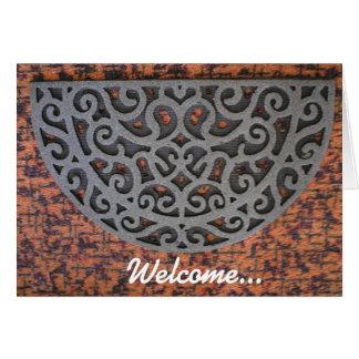 Cartão Boa vinda… a você casa nova