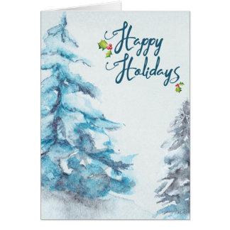 Cartão Boas festas
