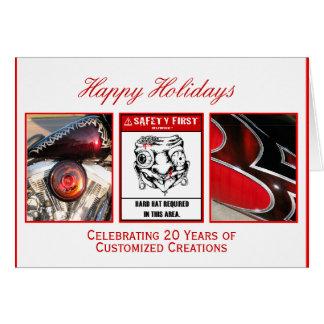 Cartão Boas festas criações personalizadas
