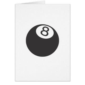 Cartão Bola 8