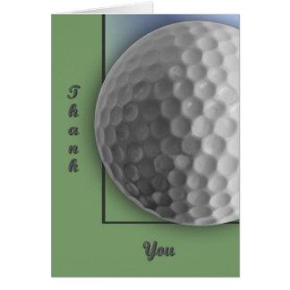 Cartão Bola de golfe