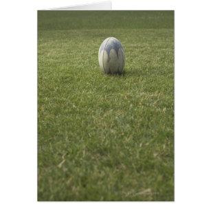 Cartão Bola de rugby