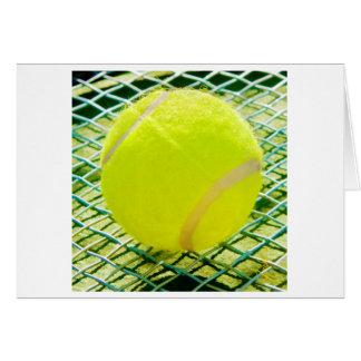 Cartão Bola de tênis Notecards