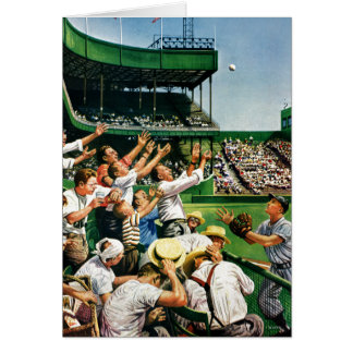Cartão Bola de travamento do home run