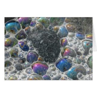 Cartão Bolhas do oceano