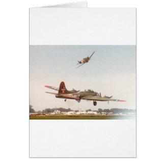 Cartão Bombardeiro B-17