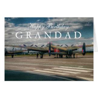Cartão Bombardeiro de Lancaster