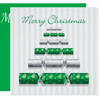 Cartão Bombons elegantes do Natal