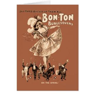 Cartão Bon-tonelada