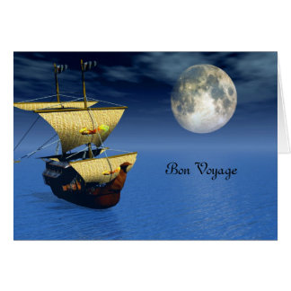 Cartão bon voyage