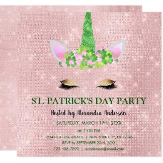 Cartão Bonito cora o partido do dia de St Patrick