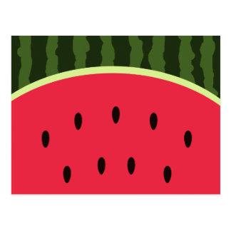 Cartão bonito da melancia