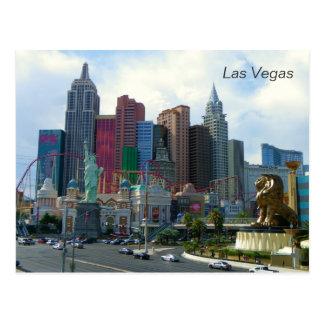 Cartão bonito da opinião de Las Vegas!