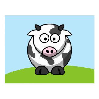Cartão bonito da vaca