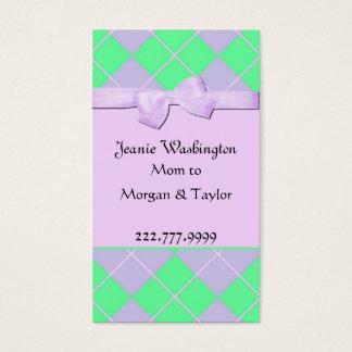 Cartão bonito das mamães