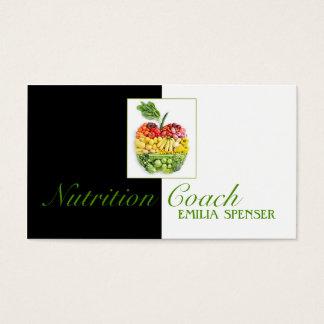 Cartão bonito de Apple da fruta saudável do