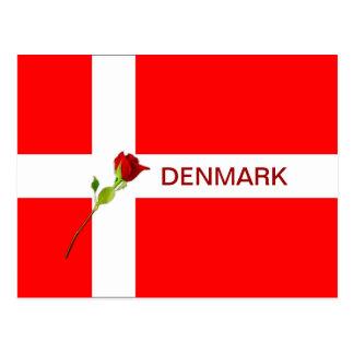 Cartão bonito de Dinamarca!