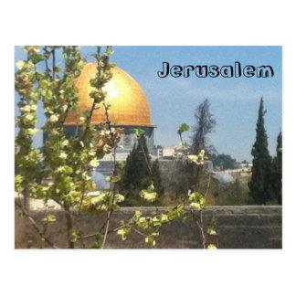 Cartão bonito de Jerusalem