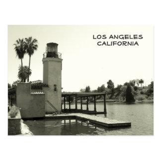 Cartão bonito de Los Angeles do estilo do vintage!