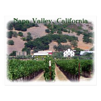 Cartão bonito de Napa Valley!