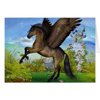 Cartão bonito de Pegasus