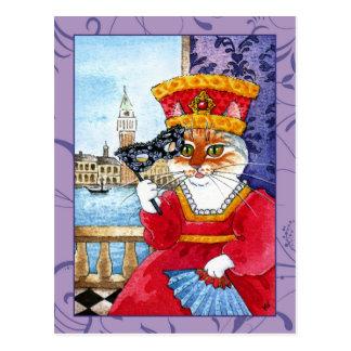 Cartão bonito do carnaval ou dos namorados de