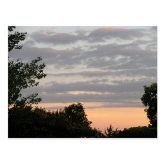 cartão bonito do céu