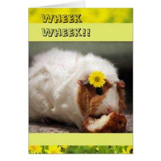 Cartão bonito do dia das mães do porco