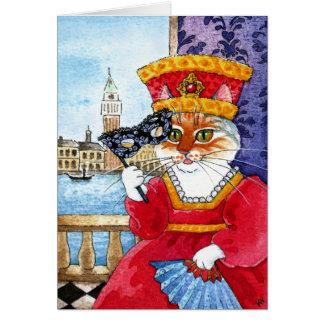 Cartão bonito do dia dos namorados ou do carnaval